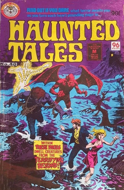 Cover for Haunted Tales (K. G. Murray, 1973 series) #40