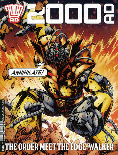 Cover for 2000 AD (Rebellion, 2001 series) #2094