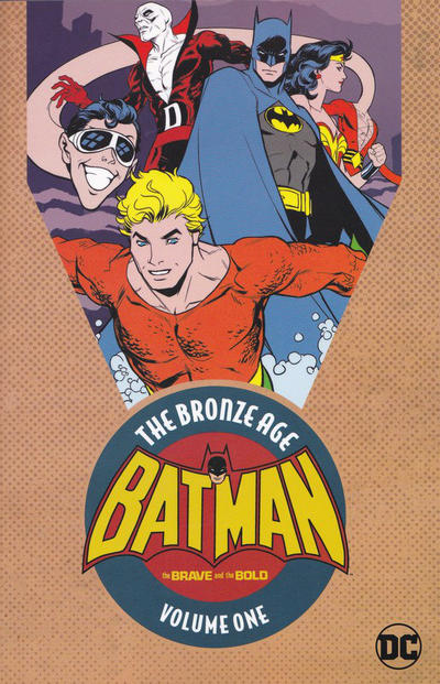Cover for Batman in the Brave and the Bold: The Bronze Age (DC, 2017 series) #1