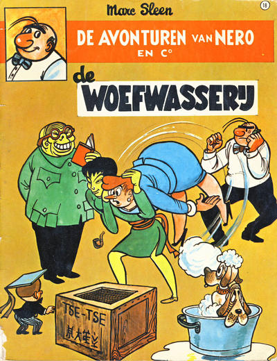 Cover for Nero (Standaard Uitgeverij, 1965 series) #18 - De woefwasserij