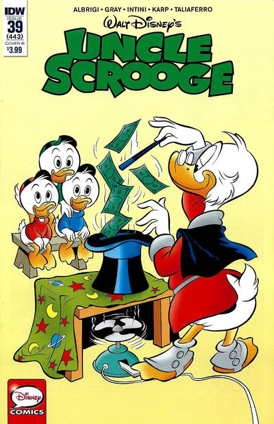 Cover for Uncle Scrooge (IDW, 2015 series) #39 / 443