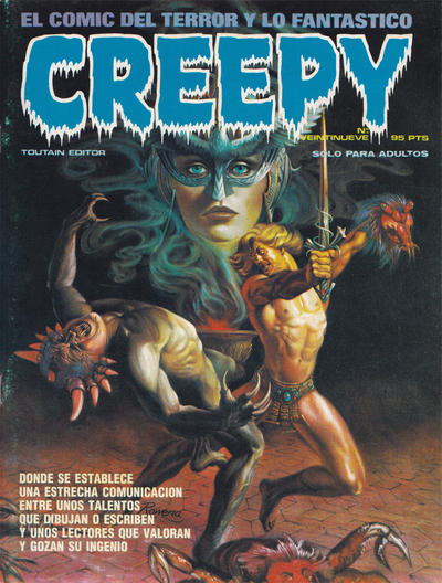 Cover for Creepy (Toutain Editor, 1979 series) #29