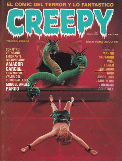 Cover for Creepy (Toutain Editor, 1979 series) #30