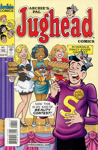 Cover for Archie's Pal Jughead Comics (Archie, 1993 series) #162 [Newsstand]
