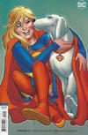 Cover for Supergirl (DC, 2016 series) #21 [Amanda Conner Cover]