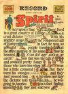 Cover Thumbnail for The Spirit (1940 series) #6/22/1941 [Philadelphia Record Edition]