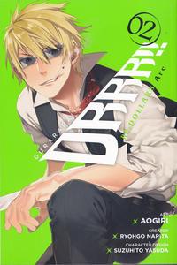 Cover Thumbnail for Durarara!! RE; Dollars Arc (Yen Press, 2018 series) #2