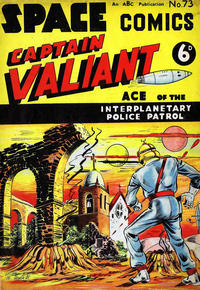 Cover Thumbnail for Space Comics (Arnold Book Company, 1953 series) #73