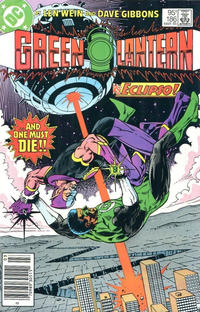 Cover Thumbnail for Green Lantern (DC, 1960 series) #186 [Canadian]