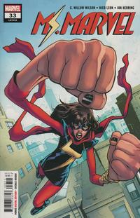 Cover Thumbnail for Ms. Marvel (Marvel, 2016 series) #33