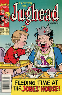 Cover Thumbnail for Archie's Pal Jughead Comics (Archie, 1993 series) #60 [Newsstand]
