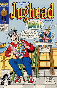 Cover Thumbnail for Archie's Pal Jughead Comics (Archie, 1993 series) #53 [Direct]