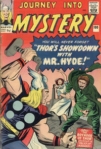 Cover Thumbnail for Journey into Mystery (Marvel, 1952 series) #100 [British]
