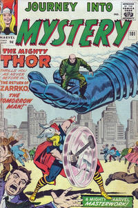 Cover Thumbnail for Journey into Mystery (Marvel, 1952 series) #101 [British]