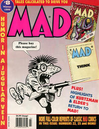 Cover Thumbnail for Tales Calculated to Drive You Mad (EC, 1997 series) #8 [Newsstand]