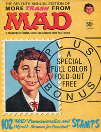 Cover Thumbnail for More Trash from MAD (EC, 1958 series) #7 [50¢ Cover Price]
