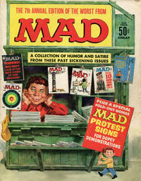 Cover Thumbnail for The Worst from MAD (EC, 1958 series) #7 [50¢]