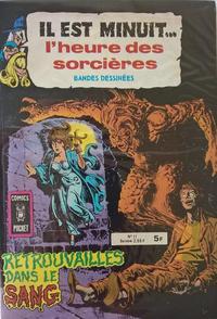 Cover Thumbnail for Il Est Minuit... l'Heure des Sorcières (Arédit-Artima, 1978 series) #11