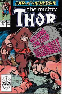 Cover Thumbnail for Thor (Marvel, 1966 series) #411 [Direct]