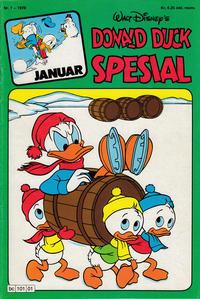 Cover Thumbnail for Donald Duck Spesial (Hjemmet / Egmont, 1976 series) #1/1978