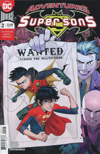 Cover Thumbnail for Adventures of the Super Sons (DC, 2018 series) #2