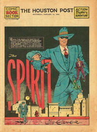 Cover Thumbnail for The Spirit (Register and Tribune Syndicate, 1940 series) #1/12/1941 [Houston Post Edition]