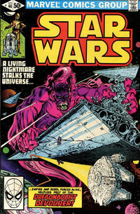 Cover Thumbnail for Star Wars (Marvel, 1977 series) #46 [Direct]