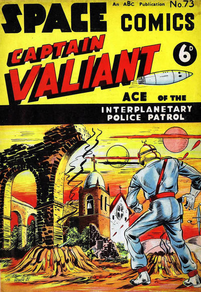 Cover for Space Comics (Arnold Book Company, 1953 series) #73