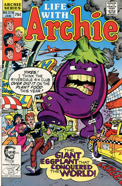 Cover for Life with Archie (Archie, 1958 series) #270 [Newsstand]