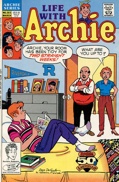 Cover for Life with Archie (Archie, 1958 series) #283 [Direct]