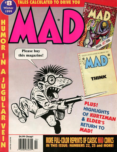 Cover for Tales Calculated to Drive You Mad (EC, 1997 series) #8 [Newsstand]