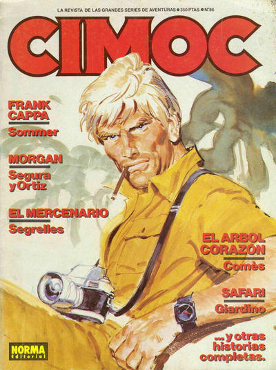 Cover for Cimoc (NORMA Editorial, 1981 series) #86