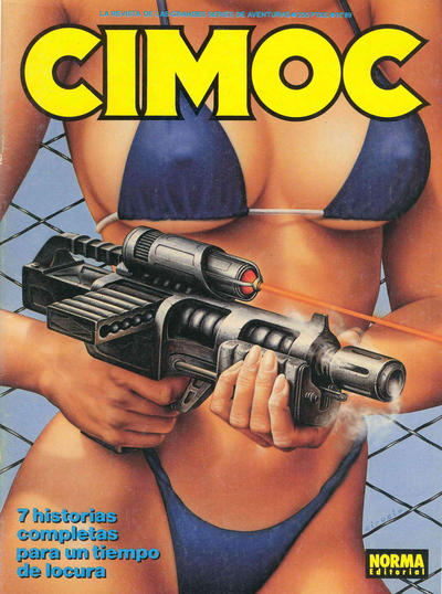 Cover for Cimoc (NORMA Editorial, 1981 series) #89