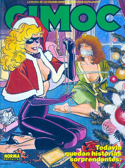 Cover for Cimoc (NORMA Editorial, 1981 series) #94