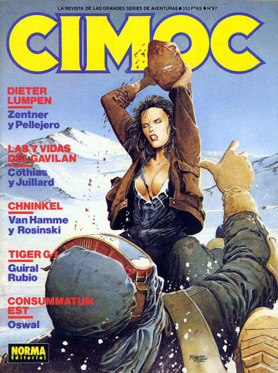 Cover for Cimoc (NORMA Editorial, 1981 series) #97