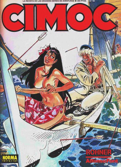 Cover for Cimoc (NORMA Editorial, 1981 series) #99