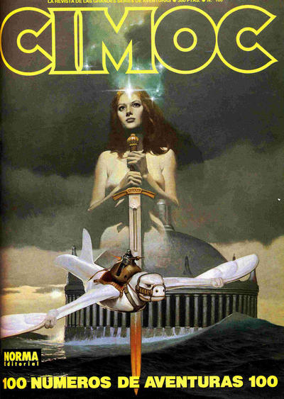 Cover for Cimoc (NORMA Editorial, 1981 series) #100
