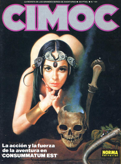 Cover for Cimoc (NORMA Editorial, 1981 series) #101