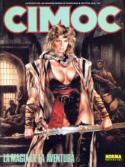 Cover for Cimoc (NORMA Editorial, 1981 series) #102
