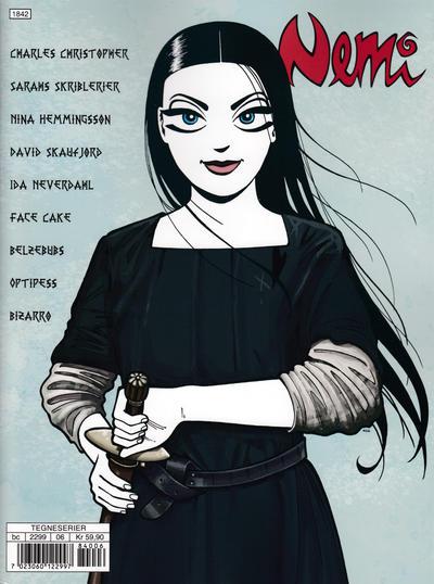 Cover for Nemi (Gyldendal Norsk Forlag, 2018 series) #166