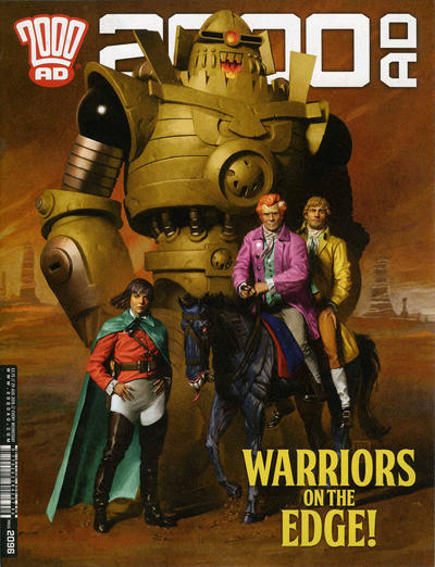Cover for 2000 AD (Rebellion, 2001 series) #2096