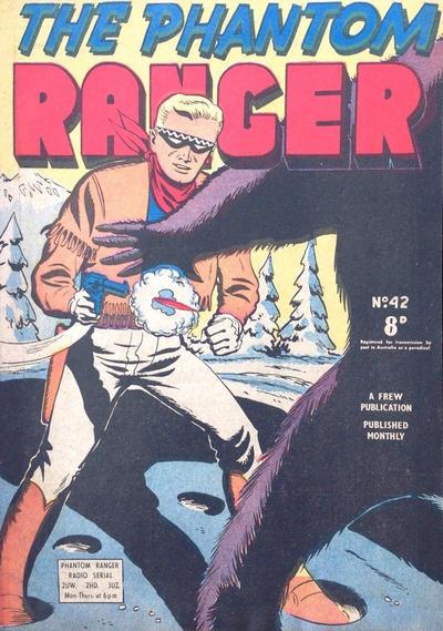 Cover for The Phantom Ranger (Frew Publications, 1948 series) #42