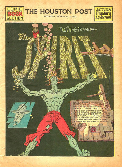 Cover for The Spirit (Register and Tribune Syndicate, 1940 series) #2/2/1941