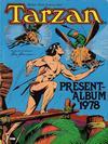 Cover for Tarzan presentalbum (Atlantic Förlags AB, 1978 series) #1978