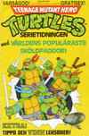 Cover for Teenage Mutant Hero Turtles gratistidning (Atlantic Förlags AB; Pandora Press, 1990 series)