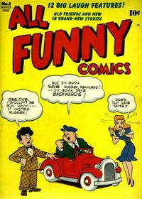 Cover Thumbnail for All Funny Comics (DC, 1943 series) #1