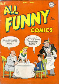Cover Thumbnail for All Funny Comics (DC, 1943 series) #11