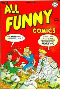 Cover Thumbnail for All Funny Comics (DC, 1943 series) #15