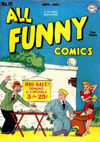 Cover Thumbnail for All Funny Comics (DC, 1943 series) #19