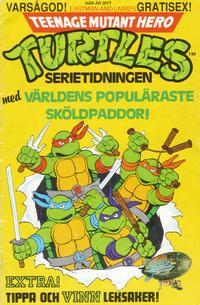 Cover Thumbnail for Teenage Mutant Hero Turtles gratistidning (Atlantic Förlags AB; Pandora Press, 1990 series)